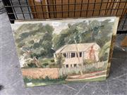Sale 8895 - Lot 2045 - 5 Unframed Works on Board incl Portraits