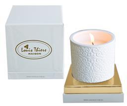 Sale 9126K - Lot 600 - Laguiole Maison Louis Thiers  ceramic candle - Gardenia