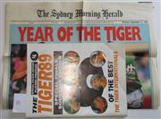 Sale 8404S - Lot 70 - Tigers 89 Special Finals Souvenir Edition, 74 pages includes colour pictures; plus Souvenir supplement from Sydney Morning Herald, T...