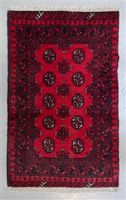 Sale 8480C - Lot 97 - Afghan Turkman 130cm x 80cm