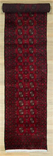 Sale 8589C - Lot 65 - Afghan Turkman Runner, 487x80