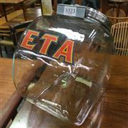 Sale 8643 - Lot 1023 - ETA Glass Jar