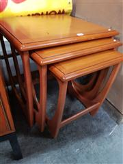 Sale 8822 - Lot 1079 - G Plan Teak Nest of Tables