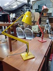 Sale 8822 - Lot 1171 - Pair of Planet Lamps