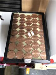 Sale 8819 - Lot 2386 - Collection of 1 Ounce Copper Tokens (35)