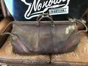 Sale 8822 - Lot 1542 - Vintage Bushell & Co. Traveling Bag