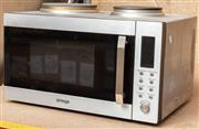 Sale 8984M - Lot 14 - An Omega 30l electric microwave and manual with twin hotplate.