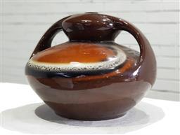Sale 9121 - Lot 1063 - Retro ceramic glazed table lamp base (h:32 x d:41cm)