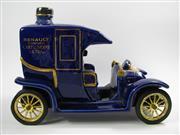 Sale 8329 - Lot 574 - 1x Renault Carte Noire Extra Cognac - in Taxi de la Marne porcelain novelty decanter w stopper