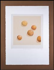 Sale 8422A - Lot 30 - Tim Storrier - The Lunch Day Fruit sheet size 77 x 57cm