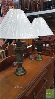Sale 8383 - Lot 1297 - Pair of Table Lamps