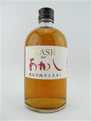Sale 8423 - Lot 620C - 1x White Oak Whisky Distillery Akashi Red Blended Japanese Whisky - 40% ABV, 500ml