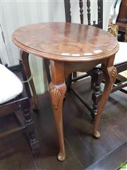 Sale 8601 - Lot 1436 - Timber Side Table