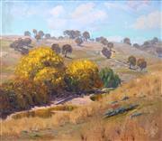 Sale 8656 - Lot 601 - Warwick Fuller (1948 - ) - Crudine Hills, 1979 90.5 x 105cm