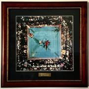 Sale 8878T - Lot 74 - Muhammad Ali The Champion Dimensions of Frame - 46cm x 46cm
