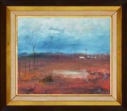 Sale 8344 - Lot 502 - Ewald (Woody) Rische (1945 - ) - A Place 24 x 29cm