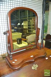 Sale 8375 - Lot 1072 - Victorian Mahogany Dressing Table Mirror