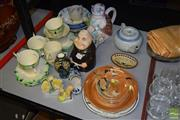Sale 8509 - Lot 2321 - Group of Assorted Ceramics incl Royal Copenhagen Commemorative Plate