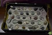 Sale 8520 - Lot 1100 - Assortment of Polished Geology Specimens