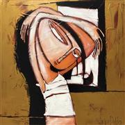 Sale 8609A - Lot 5007 - Janine Daddo (1959 - ) - First Light - Arkie 70 x 70cm