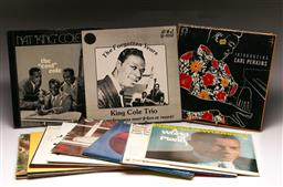 Sale 9136 - Lot 70 - A collection of mostly jazz LP records including Nat King Cole, Phineas Newborn Jr