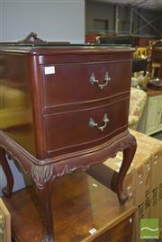 Sale 8390 - Lot 1151 - French Style Bedside Cabinet