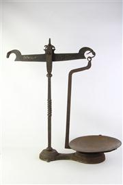 Sale 8818 - Lot 70 - Large Avery Scales With Weights