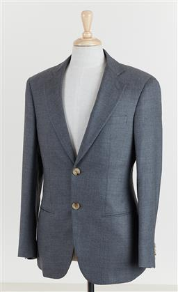 Sale 9120K - Lot 79 - A Giorgio Armani George suits jacket; with internal pockets, approx size ITA 48