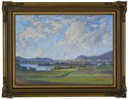 Sale 8344 - Lot 507 - Leonard Long (1911 - 2013) - Shoalhaven Evening 30.5 x 42cm