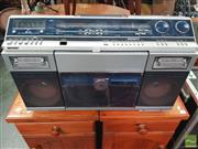 Sale 8451 - Lot 1040 - A Vintage Sharp VZ2000 Ghetto Blaster