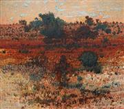 Sale 8693A - Lot 5022 - Clem Millward (1929 - ) - Near Menindie, 1987 91 x 101cm