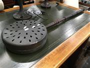 Sale 8795 - Lot 1069 - Pierced Brass Bed warmer