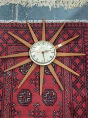 Sale 8822 - Lot 1152 - Starburst Wall Clock
