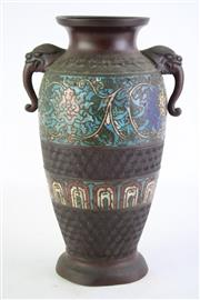 Sale 8844O - Lot 512 - Campleve Chinese Vase H: 27cm