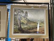 Sale 8906 - Lot 2094 - Fay Joseph - Road from Blowering Dam Tumut 1969, oil on board, SLR
