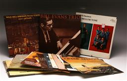 Sale 9136 - Lot 29 - A collection of mostly jazz LP records including Bill Evans Trio and Wild Bill Davison