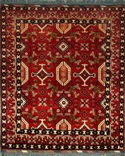 Sale 8353C - Lot 75 - Afghan Kargahi 184cm x 160cm