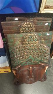 Sale 8433 - Lot 2067 - Buddha Plaques (3)