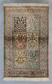 Sale 8472C - Lot 88 - Kashmiri Silk 130cm x 100cm