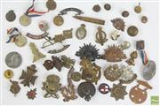 Sale 8490 - Lot 115 - Early Medal and Badge Collection inc Military, Easter Show and Others