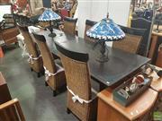 Sale 8620 - Lot 1067 - Modern Seven Piece Dining Suite