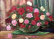 Sale 8655A - Lot 5036 - Czech School - Roses 52 x 69cm