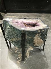 Sale 8805 - Lot 1007 - Amethyst Coffee Table Base (42kgs)