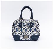 Sale 8800F - Lot 26 - An Oroton canvas mini handbag with William Morris design H 23 W 29 D 11cm
