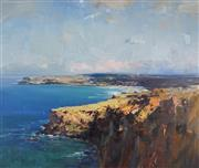 Sale 8929 - Lot 544 - Ken Knight (1956 - ) - Lennox Headlands 83.5 x 99 cm