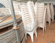 Sale 8984M - Lot 3 - approx. 400 stackable event chairs in three different styles.
