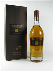Sale 8329 - Lot 539C - 1x Glenmorangie Distillery 18YO Extremely Rare Highland Single Malt Scotch Whisky - 43% ABV, 700ml in presentation box