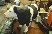 Sale 8352 - Lot 1097 - Composite Form Black & White Cow Figure