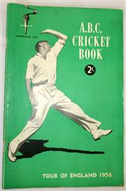 Sale 8460C - Lot 35 - ABC Cricket Book Tour of England 1956. Very good.