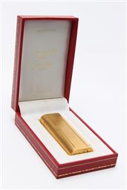 Sale 8719 - Lot 8 - Cartier Lighter In Box